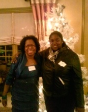 Chantelle and I celebrating my birthday at a mansion event!
