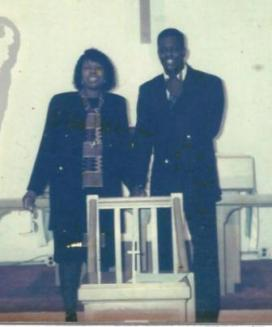 At Reconciliation Baptist shortly after I was licensed in the ministry in 1995