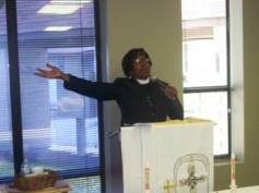 Preaching God's Word!