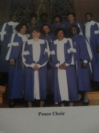 I sang 1st soprano on Peace singing group!