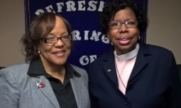 Dr. Celeste Hicks and I at RSLW!